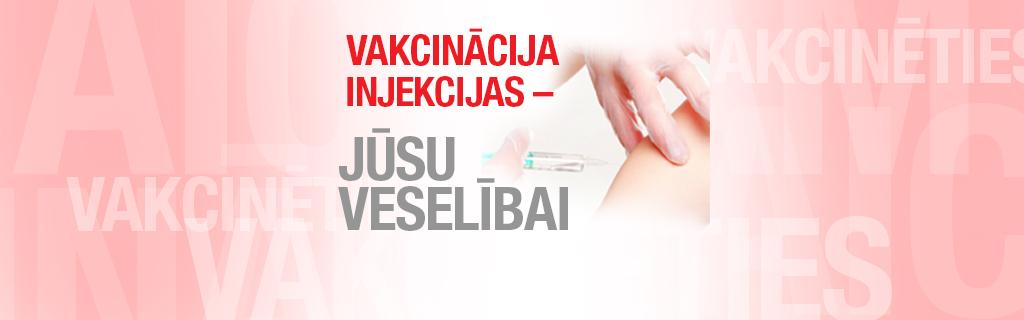 Vakcinācija, injekcijas